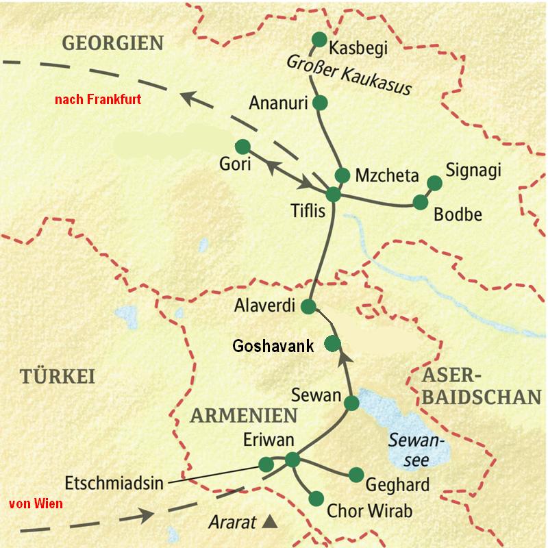 Armenien Und Georgien 2018 Reinhardsreiseblog Com